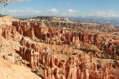 Amphitheater from Inspiration Point at sunrise, Bryce Canyon Stock Photo