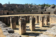 Amphitheater in Italica Royalty Free Stock Photography