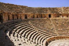 Amphitheater, Jarash, Jordan Royalty Free Stock Photo