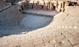 Amphitheater of Jerash Stock Photos