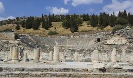 Amphitheater2 (Kolosseum) in Ephesus Stockfotografie