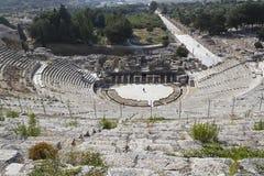 Amphitheater (Kolosseum) in Ephesus Stockfotografie