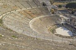 Amphitheater (Kolosseum) in Ephesus Lizenzfreies Stockfoto