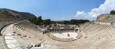 Amphitheater-Kolosseum in Ephesus Efes die Türkei lizenzfreie stockbilder