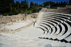 Amphitheater in Kos fotografia stock