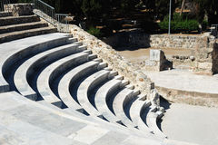 Amphitheater in Kos Stockbilder