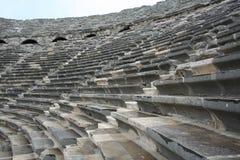 Amphitheater laterale immagine stock