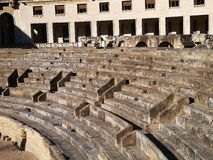 Amphitheater in Lecce Royalty Free Stock Photo
