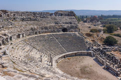 Amphitheater Miletus Royalty Free Stock Images