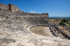Amphitheater in Miletus Stock Images