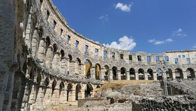 Amphitheater. Old roman empire Stock Image