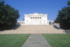 Amphitheater på den Arlington kyrkogården Arkivbild