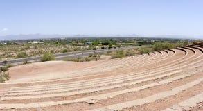 Amphitheater at Papago, AZ Royalty Free Stock Images