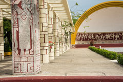 AMPHITHEATER at Parque Las Americas in Merida, Mexico Royalty Free Stock Images