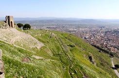 Amphitheater in Pergamon Stock Images