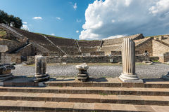 The amphitheater of Pergamos Royalty Free Stock Photography