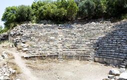 Amphitheater in Phaselis Stock Images