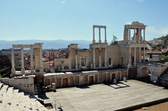 Amphitheater  Plovdiv, Bulgaria. Royalty Free Stock Image