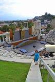 Amphitheater Plovdiv, Bulgaria Royalty Free Stock Photo