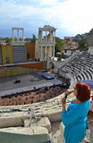 Amphitheater Plovdiv, Bulgaria Stock Photography