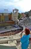 Amphitheater Plovdiv, Bulgaria Stock Photography