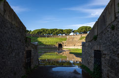 Amphitheater (Pompeii,Italy) Royalty Free Stock Photography