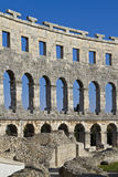 Amphitheater in Pula Royalty Free Stock Photos