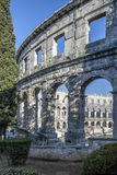 Amphitheater in Pula Stock Photography