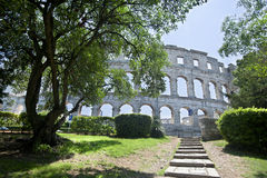 Amphitheater in Pula,Croatia Royalty Free Stock Image