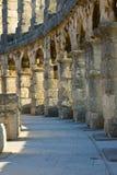 Amphitheater of Pula, Croatia. Ancient amphitheater of Pula, Croatia Stock Image