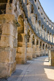 Amphitheater of Pula, Croatia. Ancient amphitheater of Pula, Croatia Stock Photos