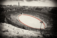 Amphitheater romano   Imagens de Stock Royalty Free