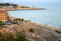 Amphitheater romano Immagini Stock