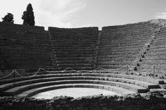 Amphitheater romano Fotografie Stock