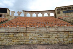 Amphitheater romano in Macao, Cina fotografia stock libera da diritti