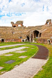 Amphitheater Santa- MariaCapua Vetere lizenzfreies stockfoto
