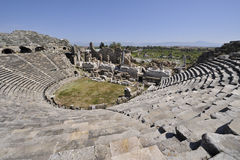 Amphitheater at Side Stock Photos