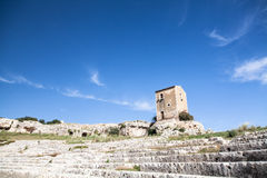 Amphitheater - Siracusa Royalty Free Stock Images