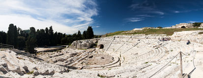 Amphitheater - Siracusa Stock Images
