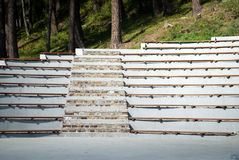 Amphitheater stairs and seats Royalty Free Stock Photography