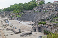 Amphitheater of the Three Gauls Royalty Free Stock Photos