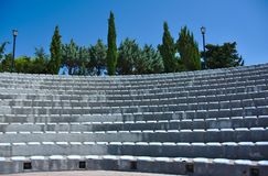 Amphitheater in Trebinje, Bosnia and Herzegovina. On a sunny day in summer. No people Stock Photos