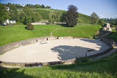 Amphitheater in Trier, Germany Royalty Free Stock Photos