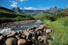 Drakensberg mountains Stock Images