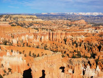 Amphitheater, view from Inspiration point, Bryce Canyon National Park Stock Image