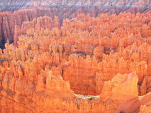 Amphitheater, view from Inspiration point, Bryce Canyon National Park Royalty Free Stock Image