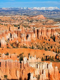 Amphitheater, view from Inspiration point, Bryce Canyon National Park Royalty Free Stock Photos