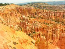 Amphitheater, view from Sunset poin, Bryce Canyon National Park Stock Photos