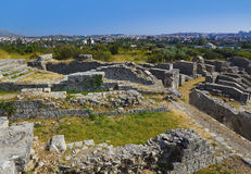amphitheateren forntida croatia fördärvar split Royaltyfri Bild