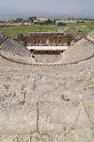 Amphitheather de Hierapolis, Denizli, Turquia Imagem de Stock Royalty Free